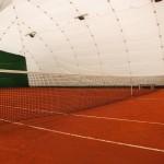 Campi da tennis in terra rossa (con copertura invernale)