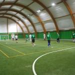 Campo multisport sintetico per calcio a 5 o tennis