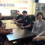 Incontro con staff Club Italia