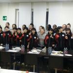 Con le ragazze del Club Italia CRAI