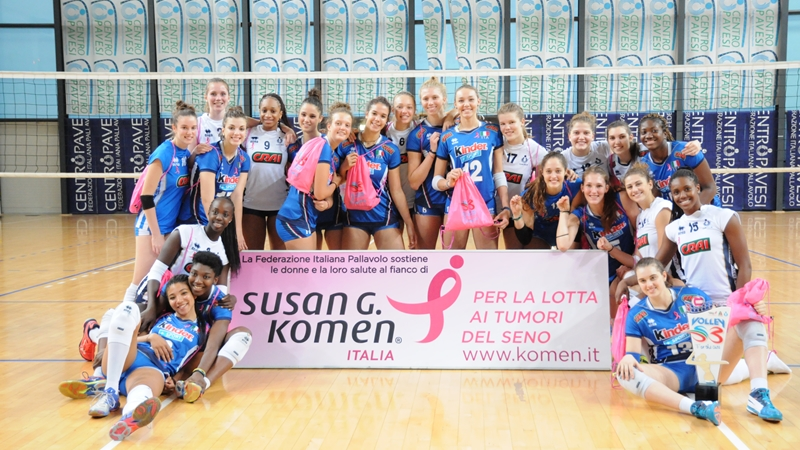 Volley S3 for the Cure copertina trofeo