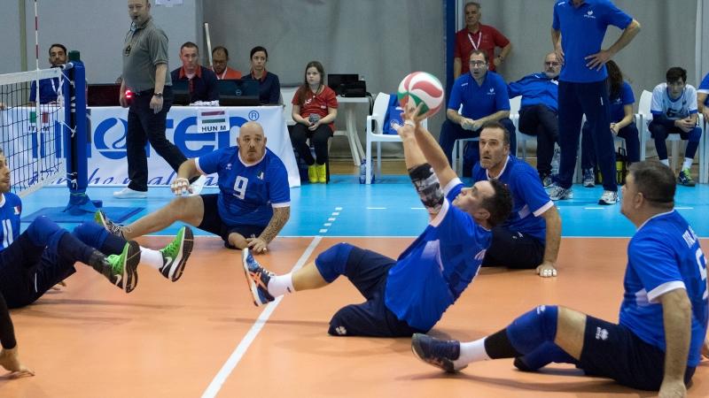 Sitting Volley maschile copertina