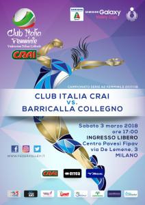 locandina Club Italia CRAI-Collegno