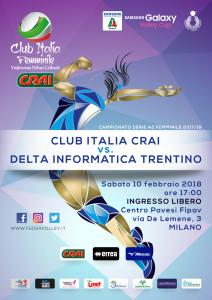 locandina Club Italia CRAI-Trento